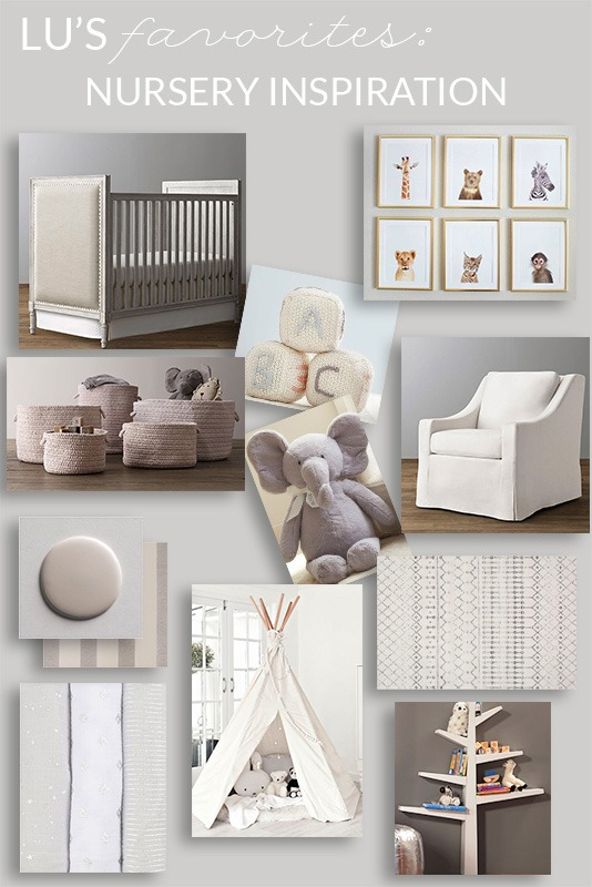 Nursery Inspiration For Baby Gender Neutral You Amp Lu